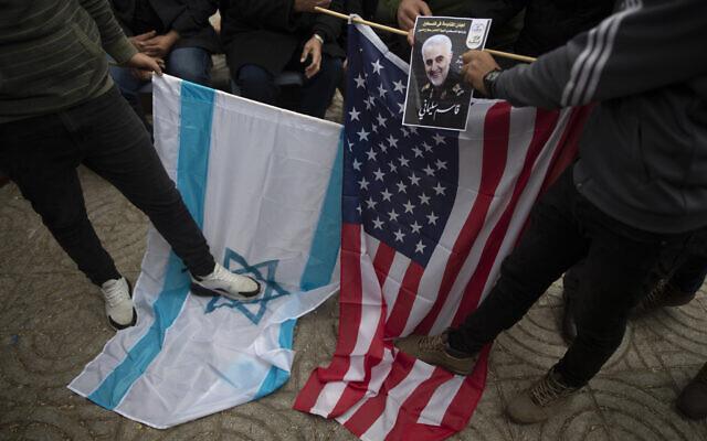 Donald Trump vows 'major retaliation' if Iran strikes back