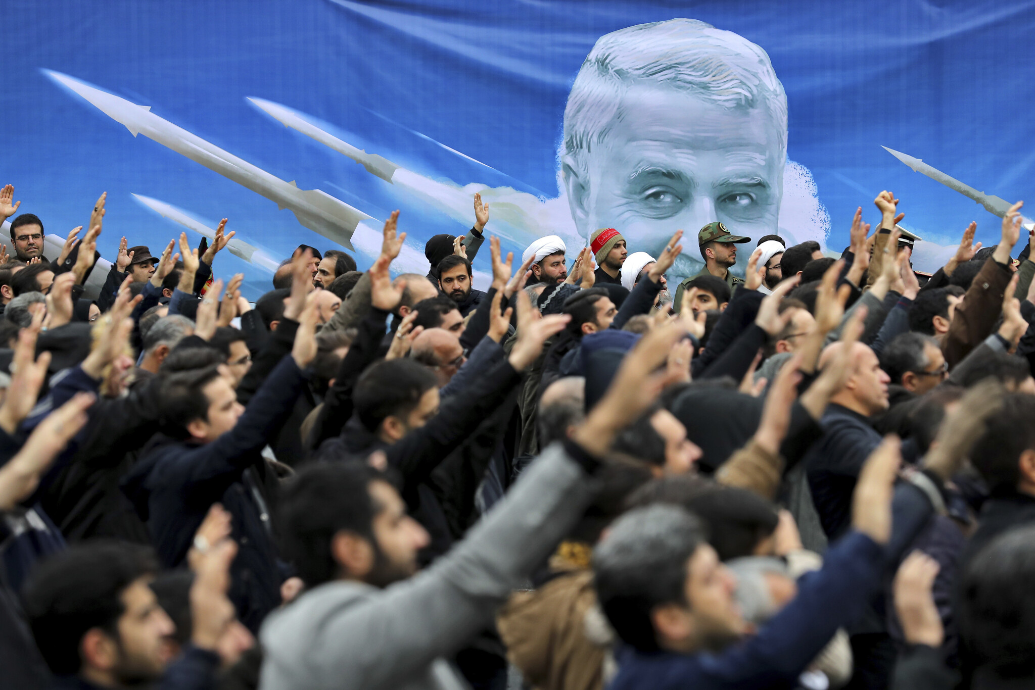 Funeral of Iran's Soleimani postponed after dozens killed in stampede