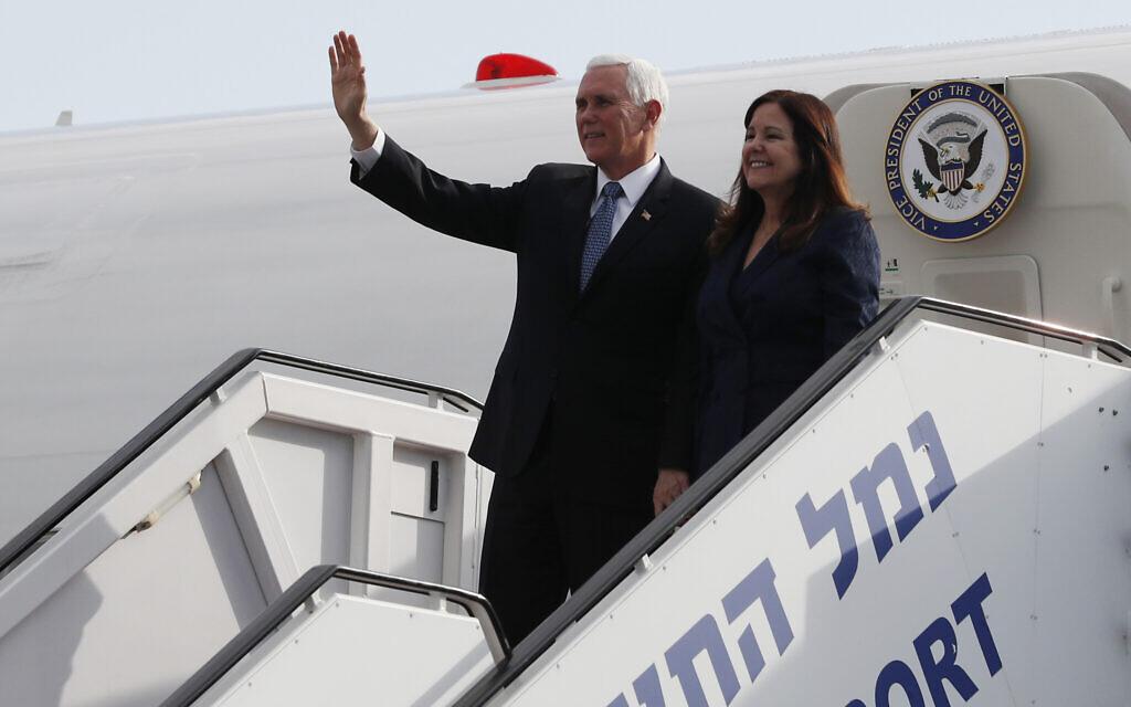 World leaders' planes faced cyberattacks as they landed in Israel last week