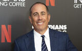 """Jerry Seinfeld at the """"Comedians In Cars Getting Coffee,"""" photo call in Beverly Hills, California, July 17, 2019. (Willy Sanjuan/Invision/AP, File)"""