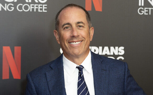 "Jerry Seinfeld at the ""Comedians In Cars Getting Coffee,"" photo call in Beverly Hills, California, July 17, 2019. (Willy Sanjuan/Invision/AP, File)"