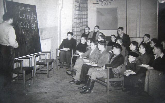 Children at the school on the Calgarth Estate circa 1946 (Lake District Holocaust Project)