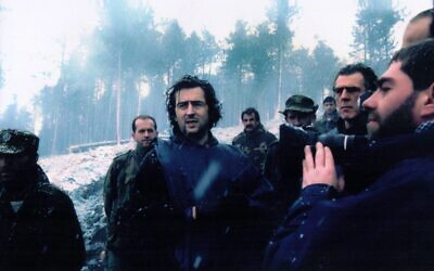 Bernard-Heni Levy in his 1994 film 'Bosna!' (Courtesy Cohen Media Group)