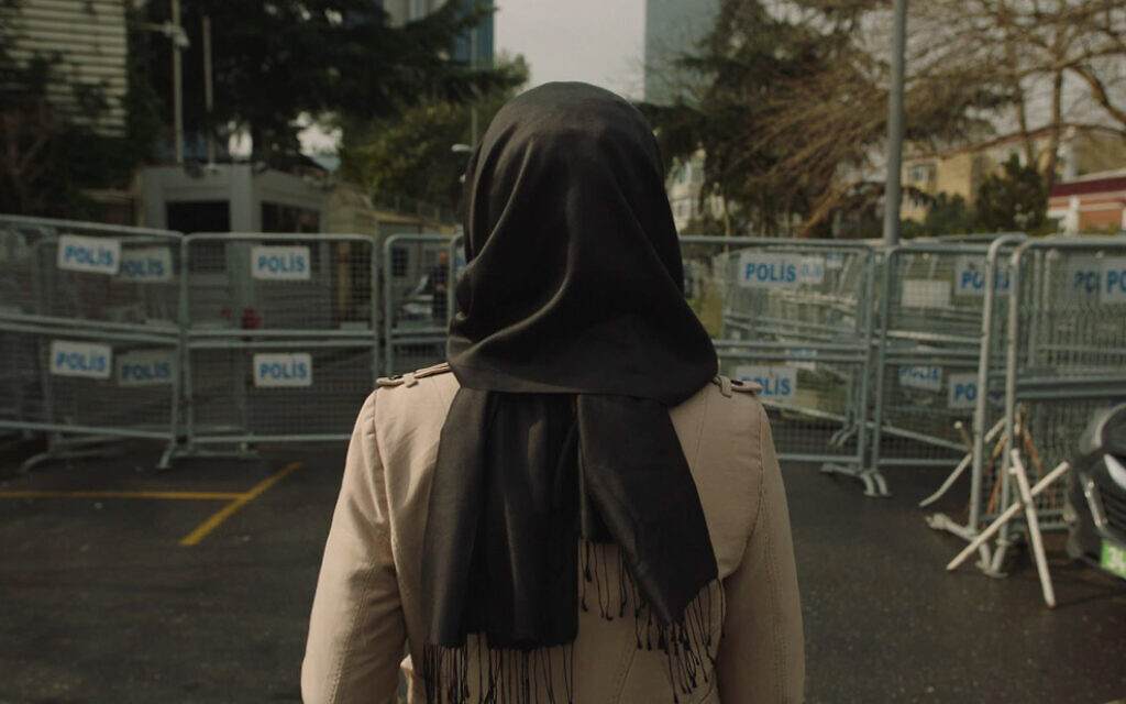 A still from 'The Dissident' by Bryan Fogel. (Courtesy Orwell Productions)