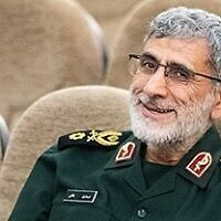 Esmail Ghaani, the deputy commander of Iran's Quds Force named as the force's commander on January 3, 2020 after the previous chief Qassem Soleimani was killed in a US airstrike, in a photo taken on 19 May 2019. (Erfan Kouchari/Wikipedia CC-BY-4.0)