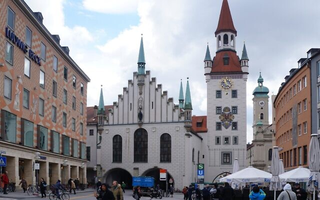 Old Town Hall in Munich, Germany. (Wikipedia/Pierre André/CC BY-SA)