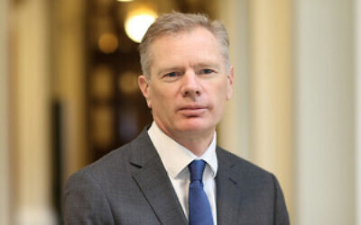 Rob Macaire on 12 March 2018. (UK Government)