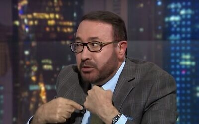 Faisal al-Qassem (Screen capture: YouTube)