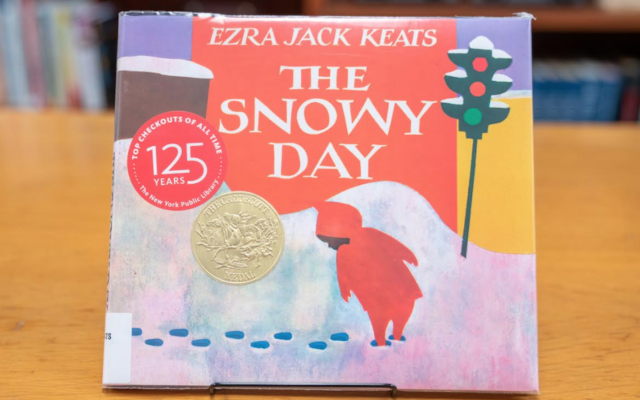 """""""The Snowy Day"""" is credited with breaking the diversity barrier in children's publishing. (New York Public Library via JTA)"""