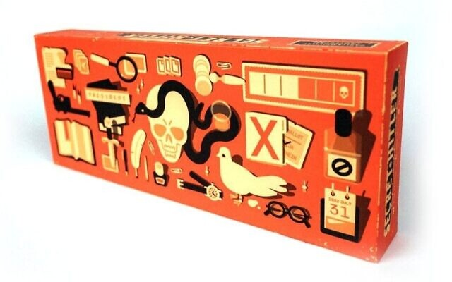 One of the creators of the Secret Hitler board game, Chicago designer Max Temkin, is Jewish. (Amazon/via JTA)