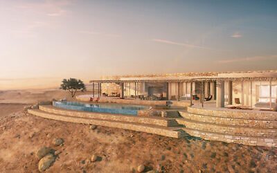Six Senses Shaharut (Artist's impression, courtesy)