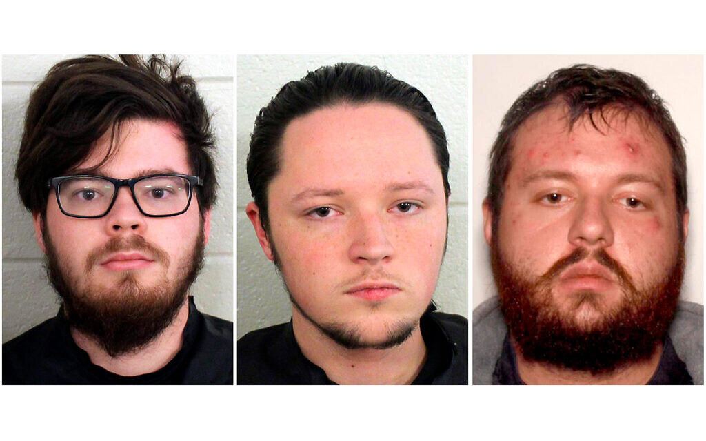 3 more men linked to US neo-Nazi group arrested for alleged murder plot