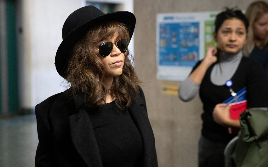 Actress Rosie Perez says she was told of Weinstein raping friend in mid-1990s