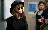 Actress Rosie Perez arrives for Harvey Weinstein's rape trial, Jan. 24, 2020 in New York. (AP/Mark Lennihan)