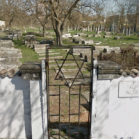 The Jewish cemetery in Shumen, Bulgaria. (Screenshot: Google Street View)