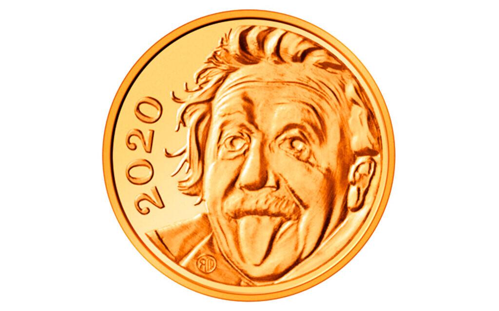 Switzerland puts Einstein's face on world's smallest gold coin