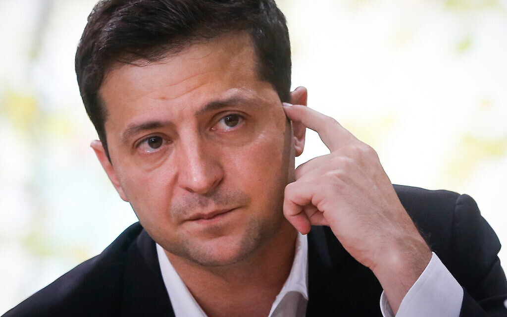 Zelensky sails through crises from Trump scandal to downed jet