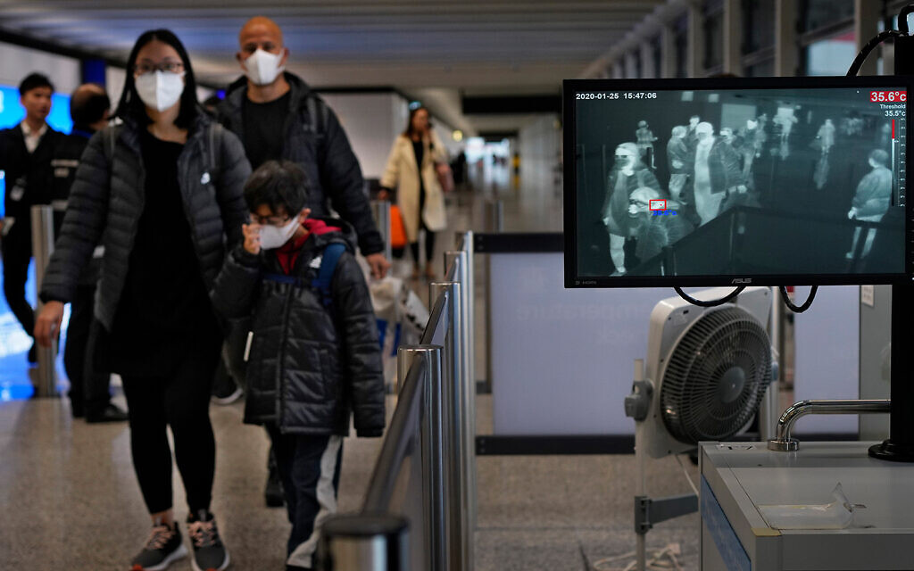 El Al allowing fliers to change tickets to China as virus scare widens — report