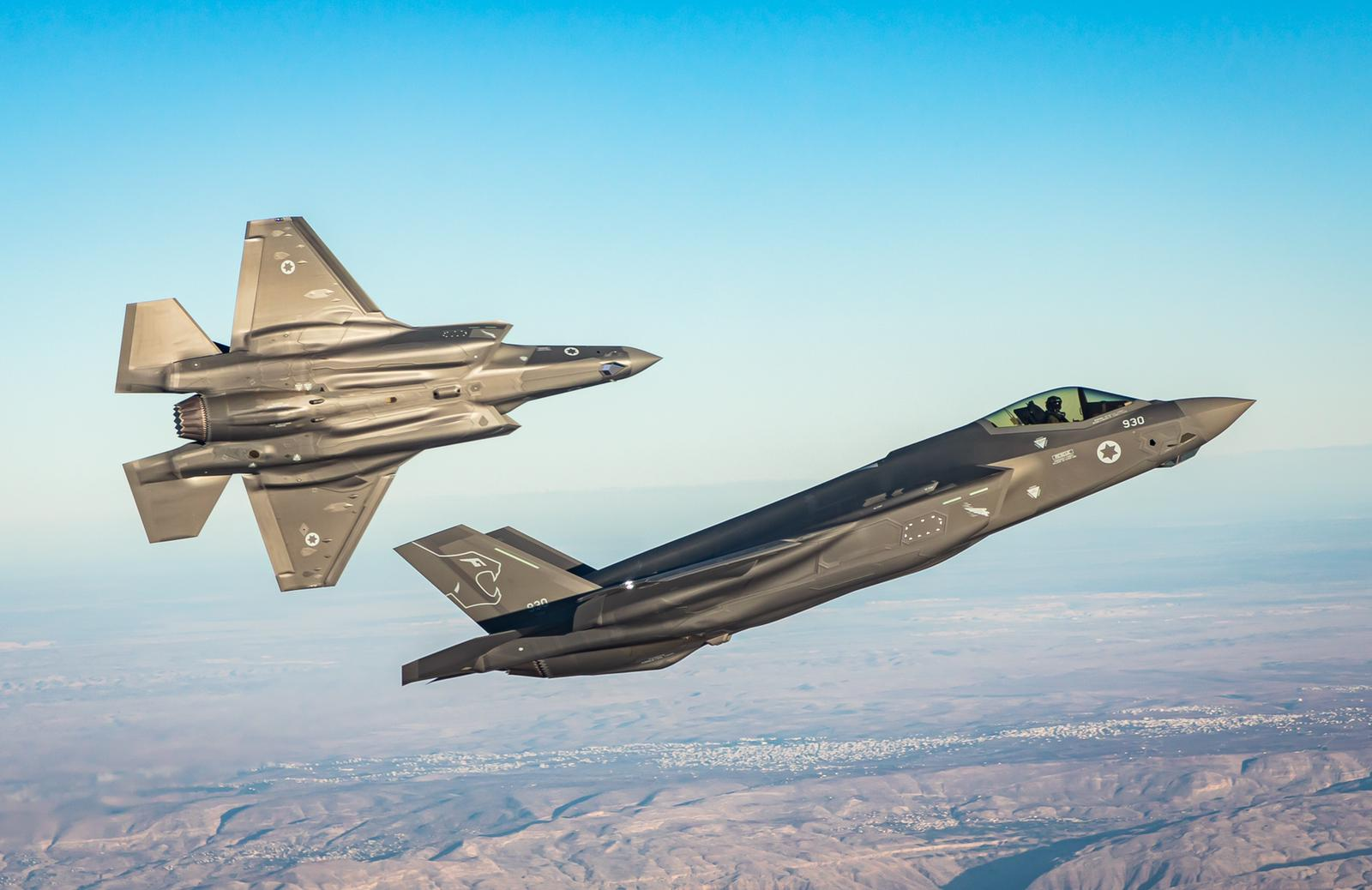 Israel Air Force inaugurates its second F-35 squadron | The Times ...
