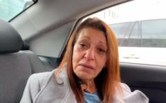 Yaffa Issachar speaks to Channel 12 news in October 2018 (Channel 12 screenshot)