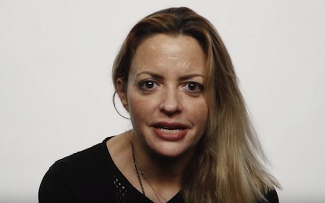 Elizabeth Wurtzel in 2015 (YouTube screenshot)