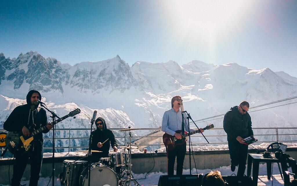 Trupa Trupa performs in Chamonix Mont Blanc (Adam Furtak/Courtesy of Trupa Trupa)