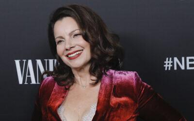 Fran Drescher in Los Angeles, November 11, 2019. (Tibrina Hobson/Getty Images via JTA)