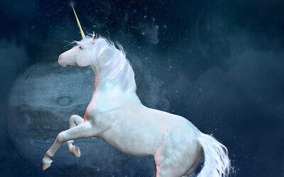 Illustrative image of a unicorn (Ellerslie77; iStock by Getty Images)
