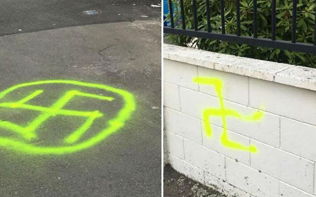 Swastikas painted on synagogue in New Zealand