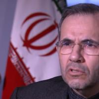 Iranian ambassador to the UN Majid Takht Ravanchi, January 3, 2020 (YouTUbe screenshot/MSNBC)