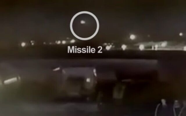 Footage shows Iranian forces launching two missiles at Ukrainian airliner (YouTube screenshot)