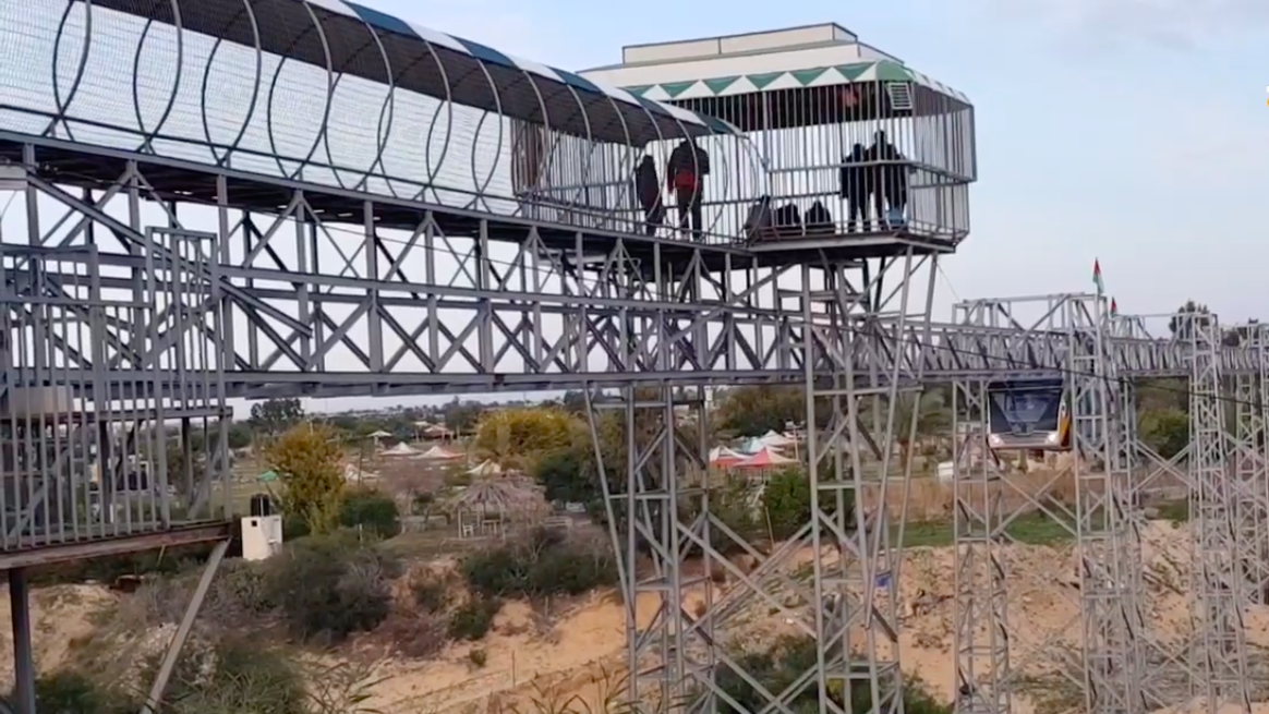 Gaza theme park's new train ride simulates the 'return' journey to  Jerusalem | The Times of Israel