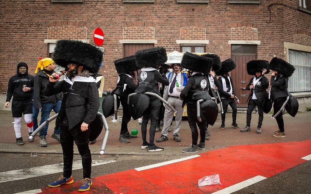 European Commission condemns anti-Semitic Belgian parade