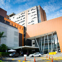 The Albert Einstein Israelite Hospital in Sao Paulo, Brazil. (Courtesy of the Albert Einstein Israelite Hospital)