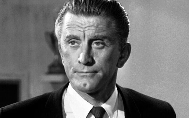 This Aug. 9, 1962 file photo shows actor Kirk Douglas in New York. Douglas died Wednesday, Feb. 5, 2020 at age 103. (AP Photo/DAB, File)