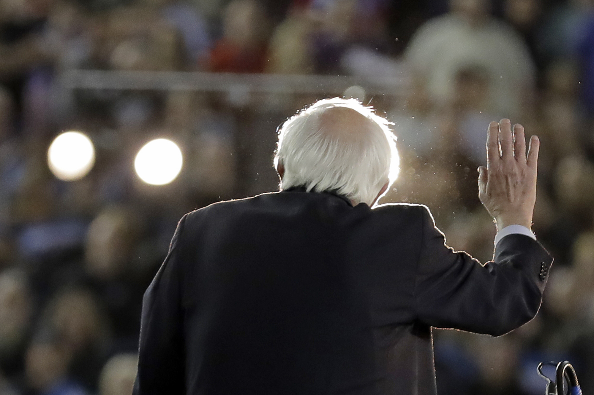 Sanders Becomes No 1 Target For Moderates After Nevada Win The Times Of Israel