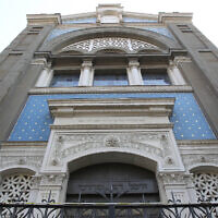A view of a synagogue in Milan, Italy, March 15, 2012 (AP Photo/Antonio Calanni)
