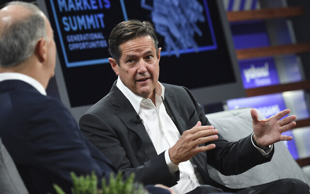 Barclays CEO Jes Staley participates in the Yahoo Finance All Markets Summit at Union West on October 10, 2019, in New York. (Evan Agostini/Invision/AP)