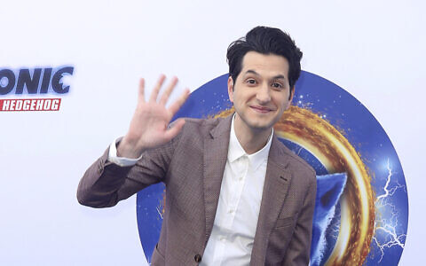 Ben Schwartz arrives at the LA Premiere of 'Sonic The Hedgehog' at the Paramount Studios on Saturday, January 25, 2020, in Los Angeles. (Photo by Willy Sanjuan/ Invision/AP)