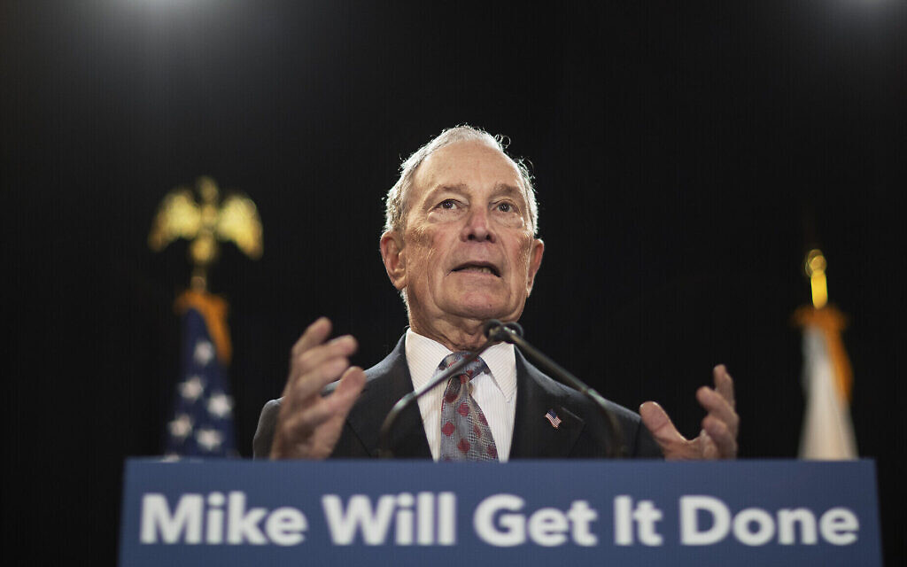 Bloomberg targets Sanders campaign in new digital ad