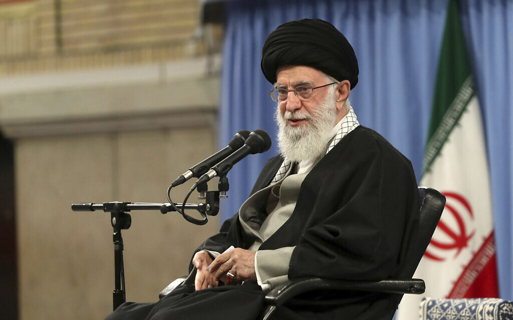 Iran supreme leader says voting is a 'religious duty'