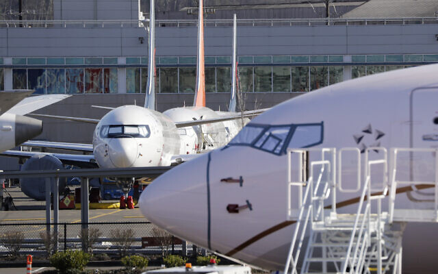 Illustrative: planes on an airport tarmac (AP Photo/Elaine Thompson)