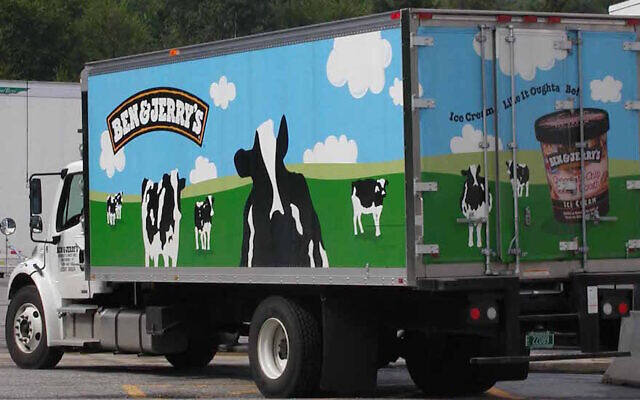 A Ben & Jerry's truck. (Wikimedia Commons)