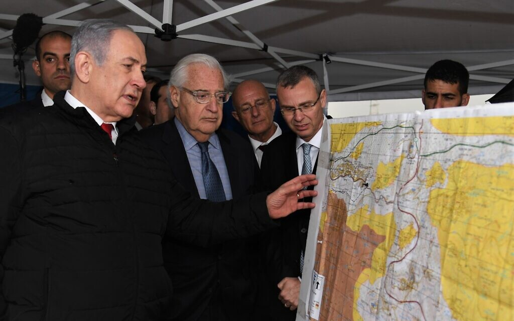 Israel and US to extend their scientific cooperation to West Bank and Golan