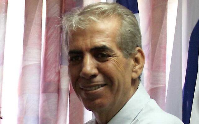 File: Sderot Mayor Eli Moyal in 2007 (Edi Israel /FLASH90)