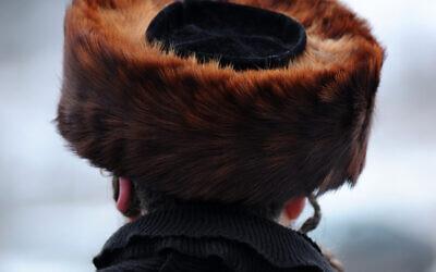 Illustrative photo of an ultra-Orthodox Jewish man with sidelocks, December 27, 2013. (Mendy Hechtman/FLASH90)