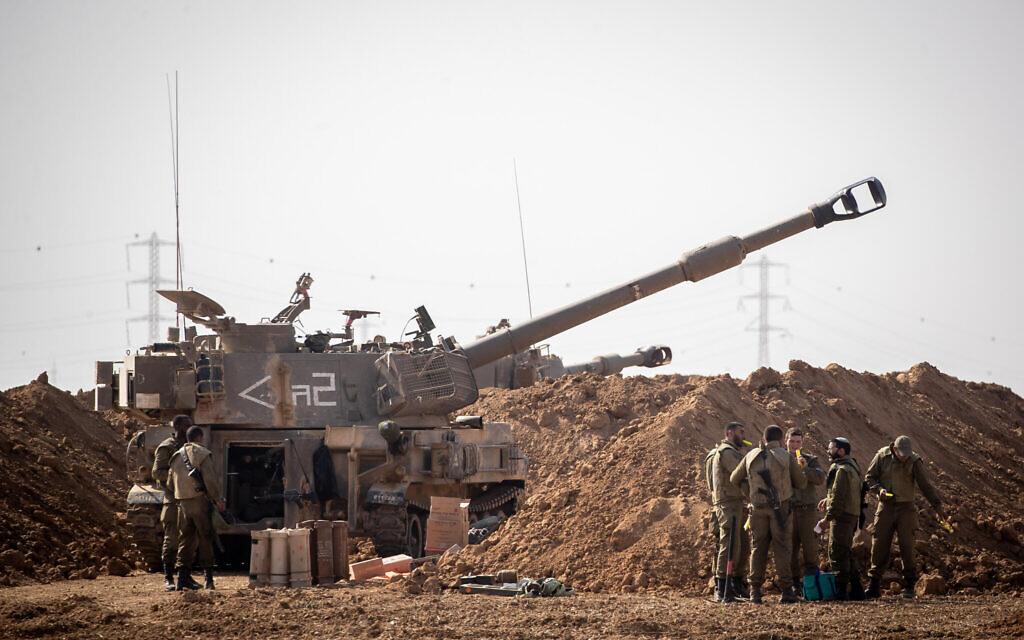 Netanyahu threatens 'crushing action' if Gaza attacks continue