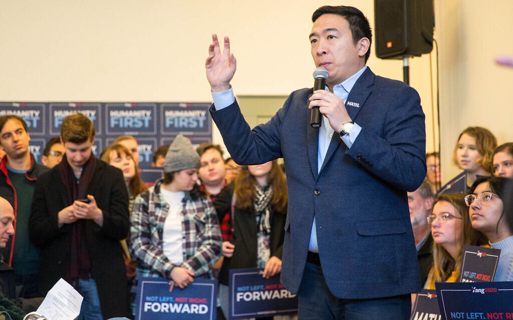 Andrew Yang retracts saying that all Palestinians have right to return to Israel