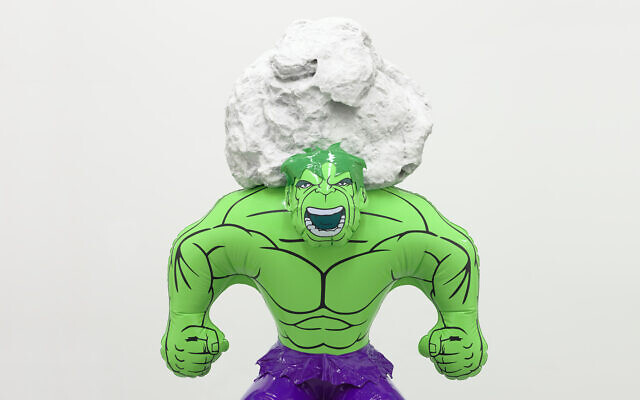 Hulk Rock by Jeff Koons will be on display at the Tel Aviv Museum of Art from March 2020 (Courtesy Tom Powel)
