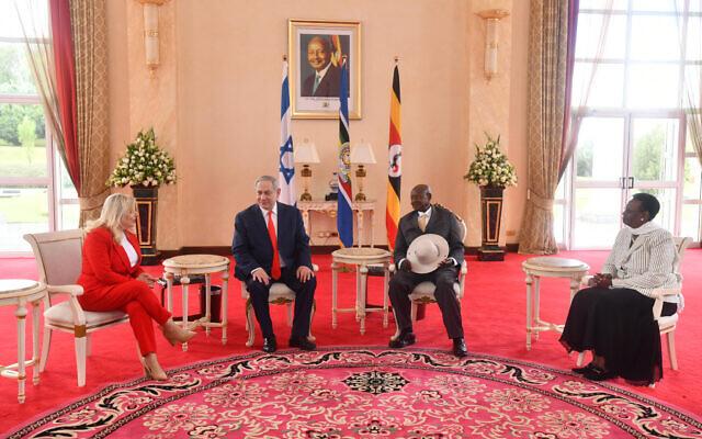Netanyahu holds landmark meeting with Sudan leader
